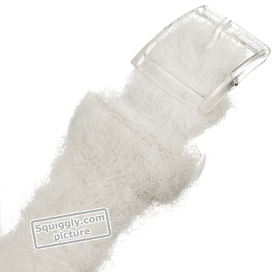 Baby Seal watch with faux white fur strap Colecção Outono/Inverno Swatch