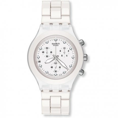 Swatch Full-Blooded White relógio