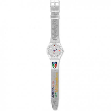 Swatch Run After Italy relógio