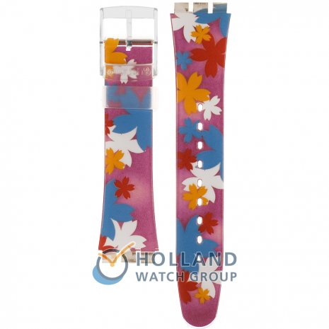 Swatch SUJK130 Floating Flowers Bracelete