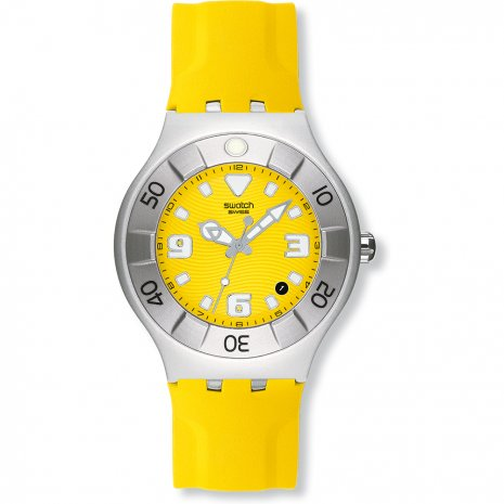 Swatch Yellow Squid relógio